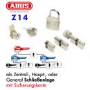 Schließanlage ABUS Z14