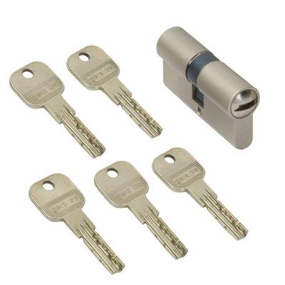 WS 45+75mm Doppelzylinder NGF 5 Schlüssel inkl.