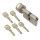 WS 30+30K mm Knaufzylinder 5 Schlüssel inkl.