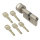 WS 50+60K mm Knaufzylinder 5 Schlüssel inkl.