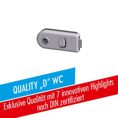 Glastürschloss Studio-Quality D WC/BAD
