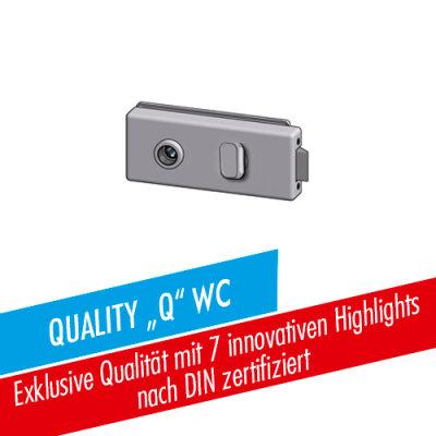 Glastürschloss Studio-Quality Q WC/BAD