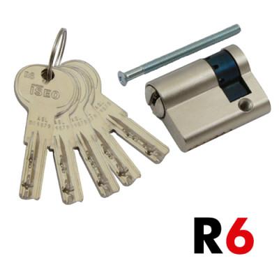 R6 Halbzylinder 45+10mm