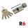 R6 Knaufzylinder 30+40K mm