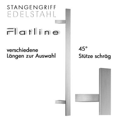 Stangengriff Flatline, schräg