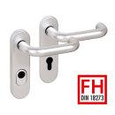 Schutzbeschlag Betria ES1+FH, Aluminium Drücker/Drücker