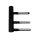 Türband V3420WF 2-teilig, schwarz matt