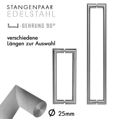 Stangengriffpaar UG Ø25mm