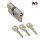 WS 60+60mm Doppelzylinder NGF 3 Schlüssel, gleichschließend WSG14.11