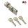 WS 30+90K mm Knaufzylinder 3 Schlüssel, gleichschließend WSG14.12