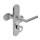 Schutzbeschlag ES1 Schild / Rosettendrücker 290 Aludra PZ DIN rechts
